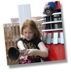 Erin and a Dalek